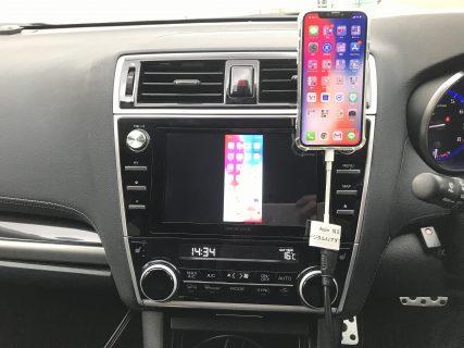 車でiPhoneのYoutube動画を見る方法(RCAアナログコンポジット編)