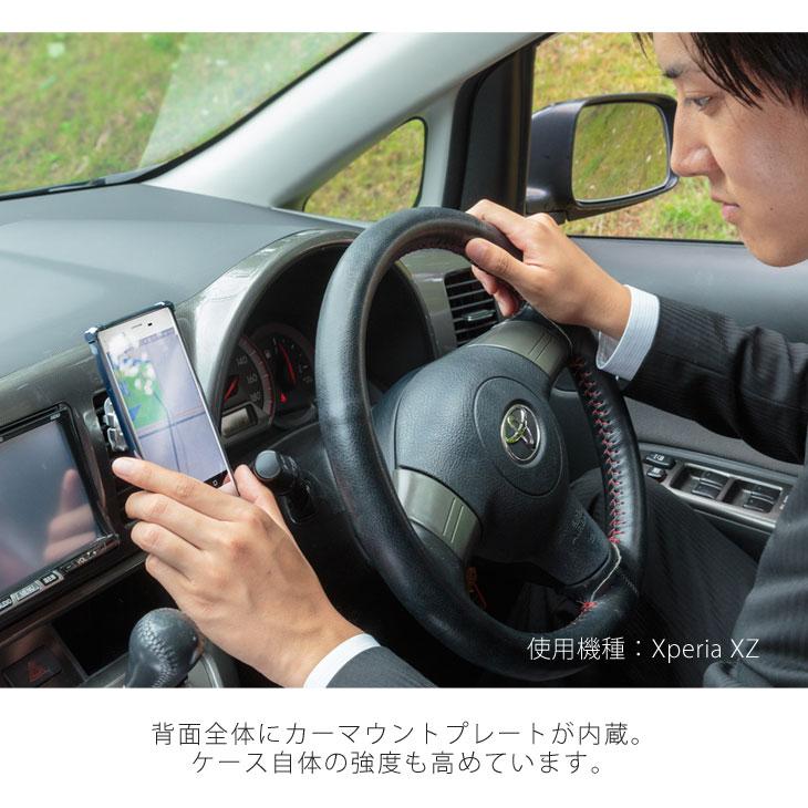 iPhone7、iPhone8 (アイフォン8) 耐衝撃ケース ビンテージPU仕上げ (カーマウントプレート、ストラップホール付き)